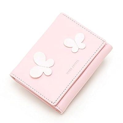 ZLR Mme portefeuille Portefeuille de cartes pli multifonctions mignon petit portefeuille Wallet