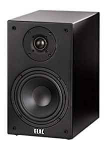 ELAC bS 72 barre de son (1 paire)-noir mat