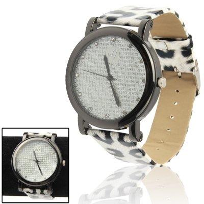 Orologi da polso , Elegante Leopard modello del quarzo della fascia da polso Lady analogica (Leopard Elegante)