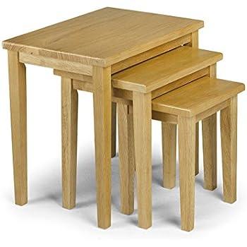 Julian Bowen Cleo Tables gigognes Chêne clair