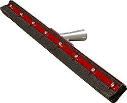 6 pack : Carlisle 4008300 Double Neoprene Floor Squeegee with Steel Frame, 1 Height, 30 Width, 12 Length, Foam Rubber, 30