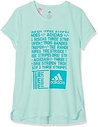 adidas Graphic Camiseta 170 Cuello Redondo Manga Corta Elastano, Poliéster - Camisas y Camisetas (