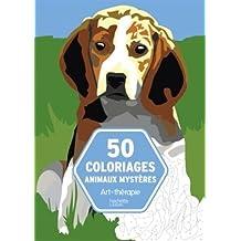 Bloc 50 coloriages animaux mystères