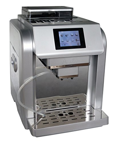 Acopino 331 One Touch Monza Kaffeevollautomat, farbiges Grafikdisplay, 2 L Wassertank, 300 g...