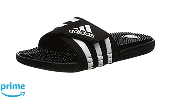 promo code adbb8 97a0d adidas Originals Adissage Synthetic CiabatteZoccoli Uomini NeroBianco -  38 - Ciabatte Amazon.it Sport e tempo libero