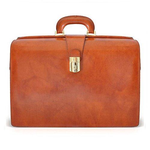 Pratesi Leon Italian Leather Laptoptasche