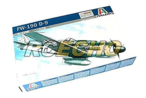 RCECHO® ITALERI Aircraft Model 1/72 FW-190 D-9 Scale Hobby 1128 T1128 with RCECHO® Full Version Apps Edition