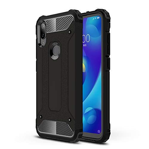 HUUH Cover per Xiaomi Mi Play,Copertura Protettiva Solida e Resistente, airbag a Quattro Angoli,Custodia del Telefono Anti-Goccia(Nero)