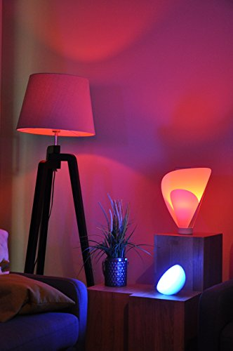 Philips Hue LED Lampe E27 Starter Set inklusive Bridge, 3. Generation, 3-er Set, dimmbar, 16 Mio Farben, app-gesteuert - 10