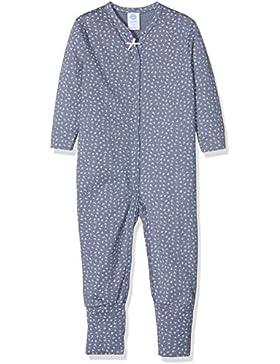 Sanetta Baby-Mädchen Schlafstrampler Overall Long
