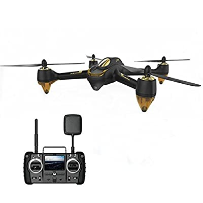 Xiangtat Hubsan H501S X4 Pro Professional 5.8G FPV Brushless With 1080P HD Camera GPS RTF Follow Me Mode RC Quadcopter Remote Control Helicopter RC Drone from Xiangtat