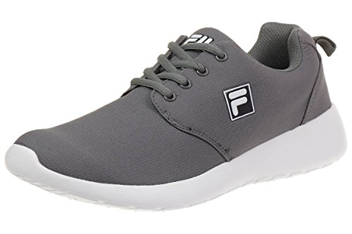 Fila Alva Low Run Men Running Trainers Sneakers Fitness Grey
