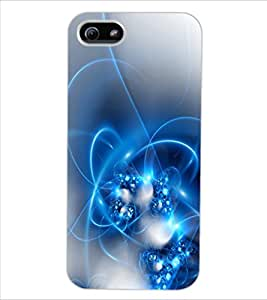 ColourCraft Abstract Image Design Back Case Cover for APPLE IPHONE 5S