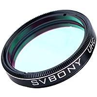 Svbony UHC Filtro Ultra de Alto Contraste, Utiliza para Ocular Estándar de Diámetro 1.25'', Ideal para la Observación de Objetos del Cielo Profundo