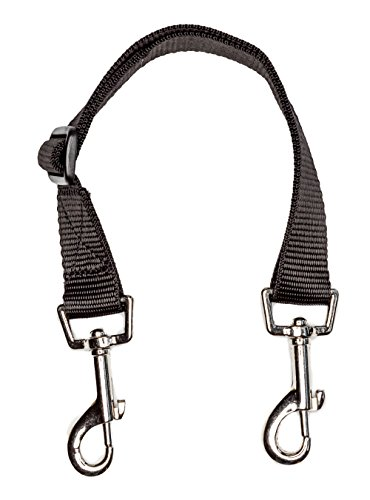 Leading Products Replacement Horse Rug Tail Fillet String trigger clips at both ends adjustable 42cm - 62cm (16``-24``) BLACK