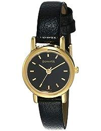 Sonata Analog Black Dial Women's Watch NM8976YL03W / NL8976YL03W