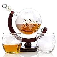Indispensable pour votre bureau, votre comptoir de bar ou pour boire dignement - que ce soit l'amour pour le whisky, les voyages ou des pièces de décoration uniquesPourquoi seul le vin rouge mérite de respirer - laissez votre whisky (whisky), vodka, ...