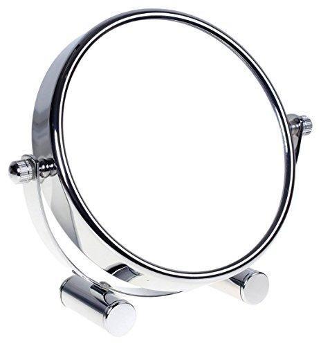 HIMRY Designed Kosmetik Spiegel / Kosmetikspiegel, 360° drehbar. zweiseitig: normal und 7 - fach...