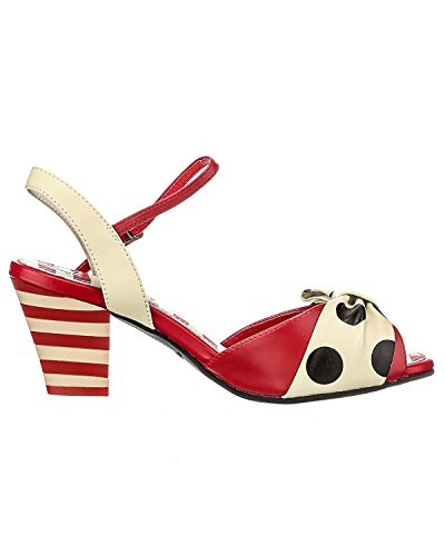 Lola Ramona Chaussures Rouge - Rouge