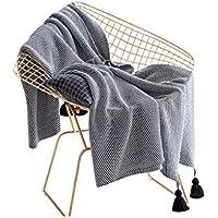 XDFCV Textiles,warmes Innenzubehör Cotton Lantern Ball Stricken Decke Freizeit Decke Büro Decke Sofa Decke Decke