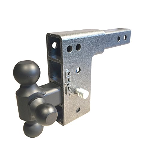 Drop Hitch Tri Ball Mount 2