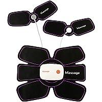 XDXDO Abs Trainer ccsme estimulador Muscular, Abdominal Cinturón USB Recargable, AB Cinturón de Gimnasia de tonificación Equipo de Entrenamiento