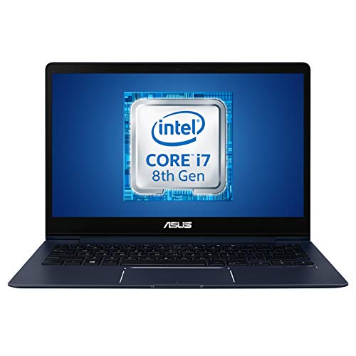 Asus UX331UA-EG029T Notebook 13.3' FHD, Intel Core i7-8550U, RAM 8 GB, SSD da 256 GB, Scheda Grafica Integrata, Tastiera Retroilluminata, Windows 10 Home [Layout Italiano]