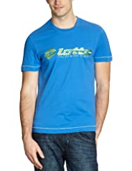 Lotto Sport - Camiseta de running para hombre, tamaño S, color cruise