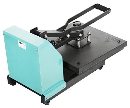 Transferdruck Textil Thermopresse Textildruckpresse T438-TB Farbe:Türkisblau - 3