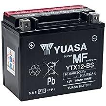 Las baterías Yuasa YTX12-BS