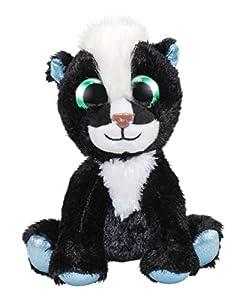 LUMO STARS Stinky - Juguetes de Peluche (Animales de Juguete, Negro, Blanco, Felpa, 3 año(s), Niño/niña, Interior y Exterior)