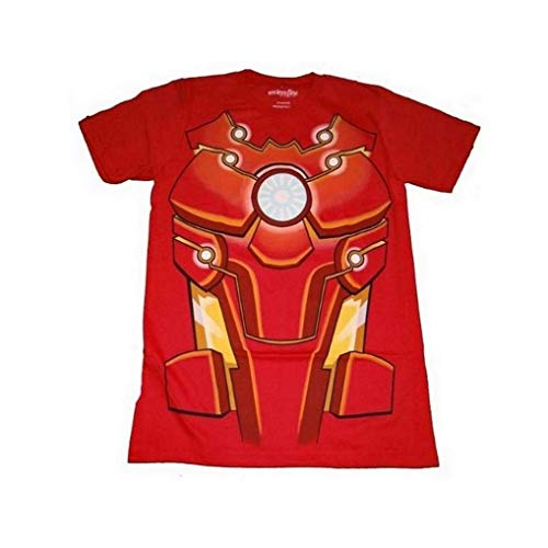 Marvel Iron Man Bleeding Edge Mens Red T-Shirt | XXL