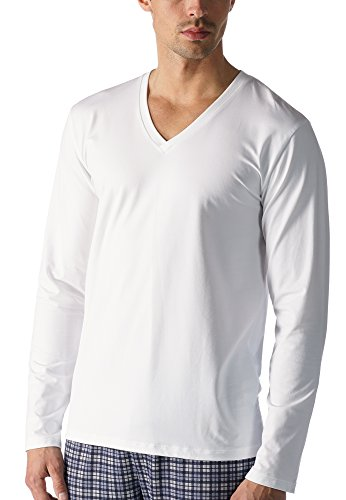"Mey Loungewear ""Mey Club Coll."" Herren Shirts 1/1 Arm 46520 Weiß"
