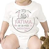 Regalo personalizado: body para bebé 'Tía Molona' personalizado con parentesco y nombre
