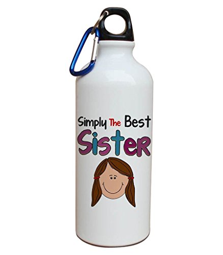 Rakhi gifts for sister Aluminium water bottle | gift for brother | gift for sister | rakshabandhan festival gifting online.