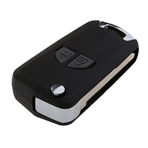 MagiDeal Tasten Fernbedienung Auto Schlüssel Gehäuse Ersatz Teil für Suzuki Swift SX4 (Ersatz-auto-teile)