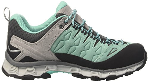 Meindl Ladies Lite Trail Gtx Hiking Boots Grigio (turkis / Gra)