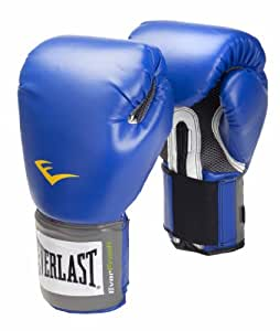 Everlast Erwachsene Boxartikel 220Y Velcro Pro Style Training Gloves, Blue, 8, 057213 20005