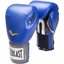 Everlast Pro Style, Guantes de boxeo, Azul, 14 oz