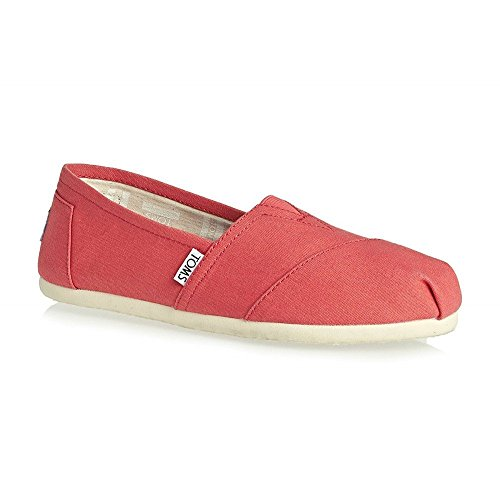 Toms Shoes - Toms Alpargata Shoes - Coral Canvas