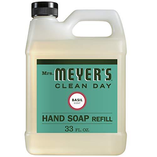 Mrs Meyers Liquid Hand Sp Refil Basl (6x33oz ) Liquid Hand E