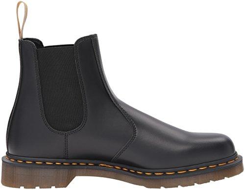 Dr. Martens Unisex-Erwachsene 2976 Vegan Chelsea Boots, Schwarz Schwarz (Black)