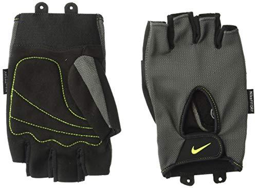 Nike Herren 9092/7 Mens Fundamental Training Gloves Trainingshandschuhe, Dark Grey/Black/Volt, M (Herren Spandex Nike)