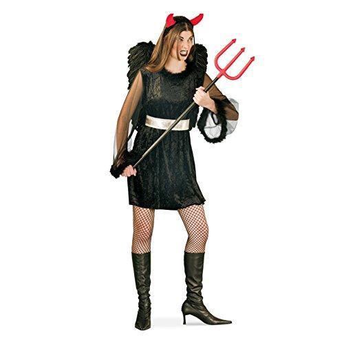 Kostüm Fallen Angel Größe 38 Halloween Fasching Karneval Teufel Engel (Fallen Angel Halloween Kostüme)