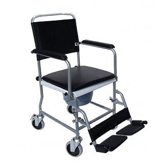 41LECS82ctL. SS324  - Sundo Homecare - Silla de ruedas plegable con orinal