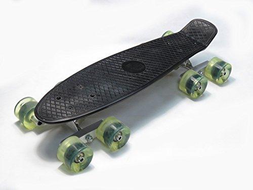 Rot Tandem Achse Rad Kit Set für Skateboard Cruiser Longboard Penny Truck (Penny Wheels Und Trucks)