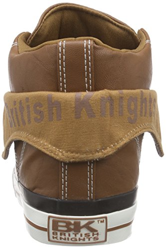 British Knights Roco Damen Hohe Sneakers Braun (Cognac 28)