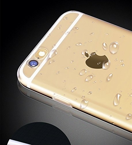 Sunroyal iPhone 4S/4 Kreativ Logo Hülle Case Transparent Handyhülle Schutzhülle Durchsichtig TPU Crystal Clear Case Backcover Bumper Slimcase Bildserie Weich Silikon Schutzhülle Anti- Stoß,Angel Muste Pattern 14