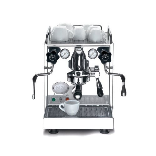 ECM 82003 Mechanika Edelstahl satiniert Espressomaschine