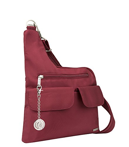 Travelon, Borsa a tracolla donna Cranberry